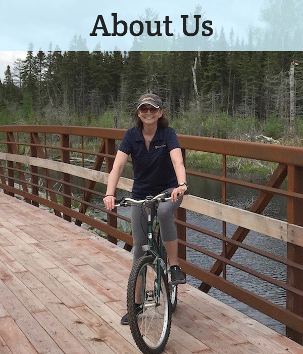 "When it comes to nonmotorized trails, here are the people – all volunteers - who are moving things forward in eastern Vilas County. <a href=""https://ghtrails.org/about/"">LEARN MORE</a>"